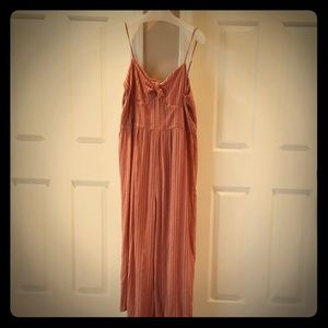 American Eagle tie front jumpsuit